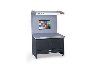 CC120 Booth Stasiun Proof Warna Colour Viewing Table 45 Gelar Stage Opsional